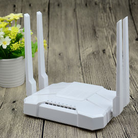China White AC1200 Wifi Router , Home Gigabit Port Router Vpn Pass - Through factory
