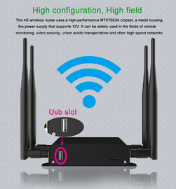 China Openwrt 4g Lte Modem 3G 4G Wifi Router Plastic Case Black Color Watchdog Function factory