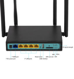 4 External Antennas 3G 4G LTE Wifi Router QCA9531 With Pci-E Slot 12V 1A