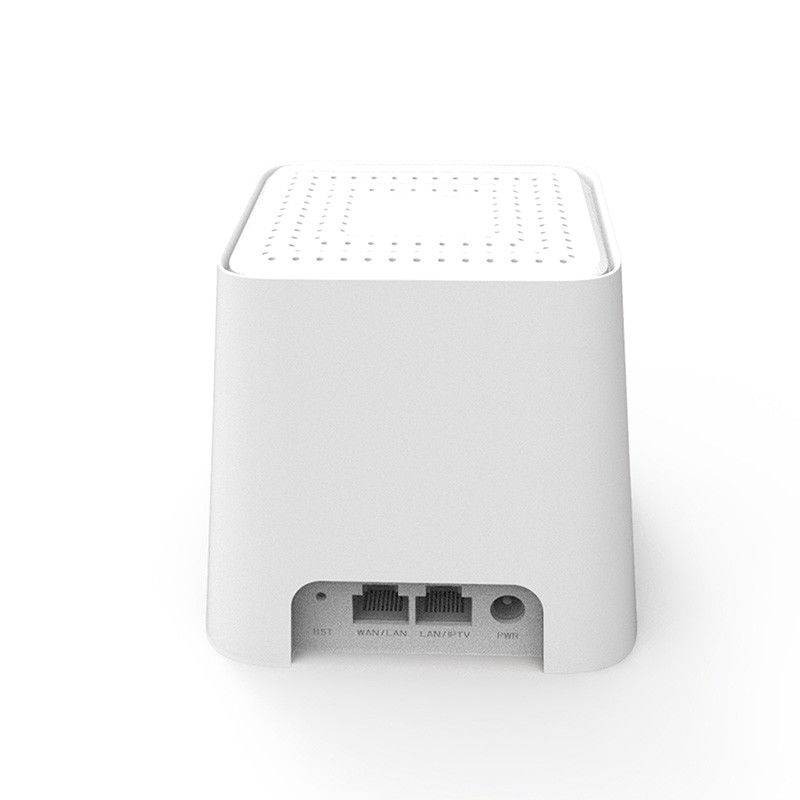 White Dual Band Mesh Router / Mesh Network Router For Home Use 10/100/1000Mbps supplier