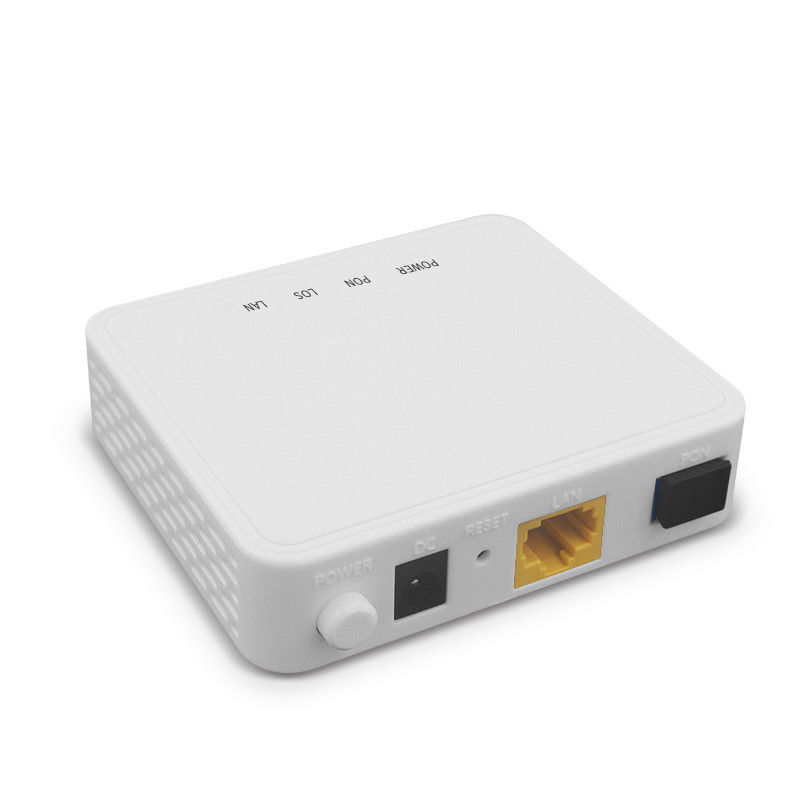 OEM Fiber Terminal FTTH GPON ONU Device ONT Modem Wifi Router Small Size supplier