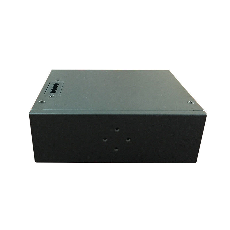 Black Industrial 4G LTE Router / RS232 To 4G Network Industrial Network Router supplier