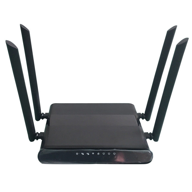 MTK7628 Dual Sim 3G 4G Wifi Router With Dual 4G Modems 300Mbps Rate supplier