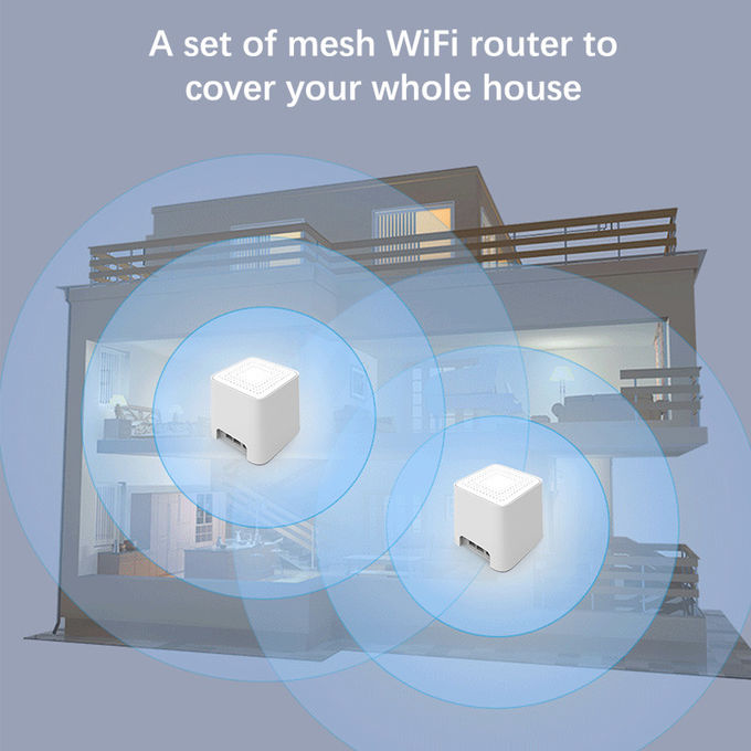 3pcs/1 Set Dual Band Mesh Wifi Router 128MB RAM Support OEM/ODM